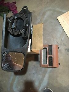Chev tow mirrors and CD player adapter