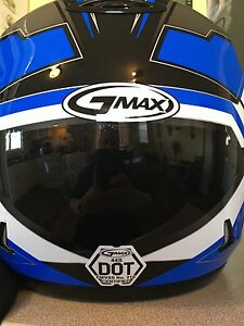 GMAX helmet w/heated shield