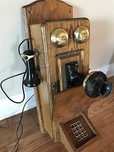 Antique Telephone - Functions Perfectly!