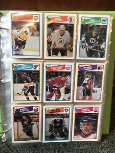 1988-89 O Pee Chee opc NHL hockey card set complete