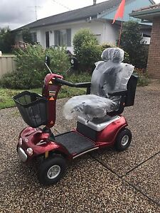 RED SHOPRIDER MOBILITY SCCOTER Tuncurry Great Lakes Area Preview