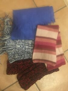 Ladies scarf & toques