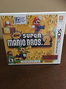 New Super Mario Bros. 2 Nintendo 3DS Video Game