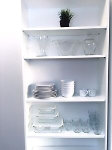 Shelving unit with high quality kitchen stuff from IKEA
