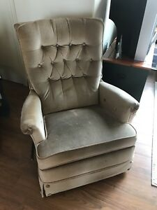 Soft fabric recliner