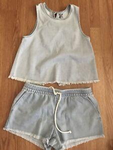 Aerie tank/shorts matching set