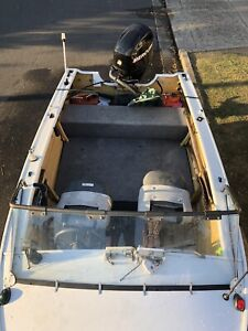 !!QUINTREX BREEZEABOUT PLATE BOAT, FAMILY FISHING,URGENT ,OFFERS !!!