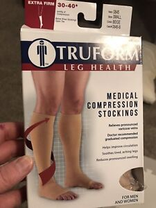 Medical compression stockings - size small