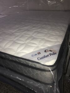 """NEW Single 39""""x74""""x10"""" Thick euro-top Mattress only $280"""