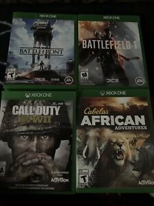 Xbox One Games - 30 to 50 O.B.O. Need gone ASAP