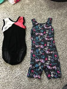 Girls gymnastic or dance suits