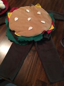 Old Navy Burger Costume - Size 2