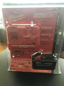 Milwaukee rapid charger + 9.0 ah battery