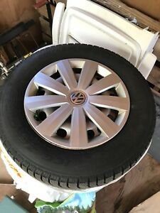 Like-New Pirelli Winter Tires on Rims 215/65 R16