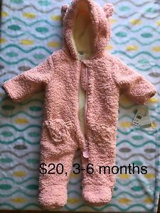 New clothes with tags, 0-9 months