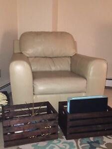 Comfy bonded leather chair must go asap