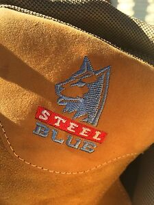 Work boots blue steel. Parmelia Kwinana Area Preview