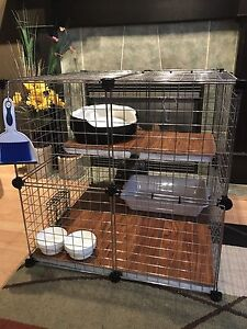 Bunny / Rabbit cage with all needed accessories
