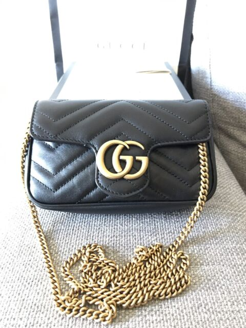 831e20157495 NEGOTIABLE - Gucci GG Marmont matelassé leather super mini bag ...