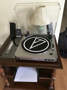 Audio-Technica AT-LP60 Stereo Turntable with Free Speakers