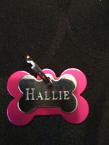 ENGRAVED DOG AND CAT TAGS $10