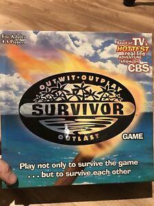 """Survivor"" board game for sale"