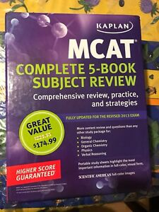 MCAT Kaplan books