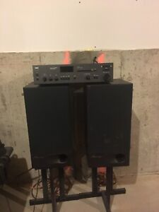 Mirage M-460 speaker and NAD 7240PE amplifier/receiver
