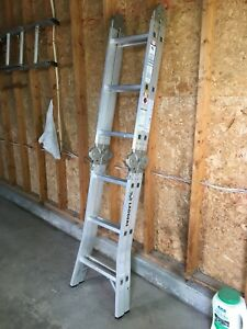 Lite multi purpose step ladder