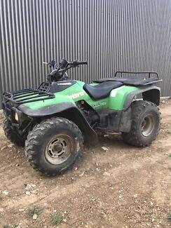 Kawasaki 300 2wd farm quad