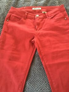 NEW RED PANTS