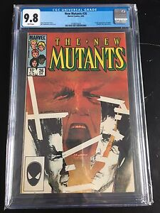 New Mutants 26 CGC 9.8 White Pages First Appearance of Legion