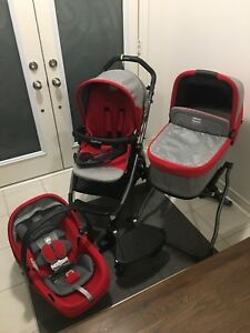 Peg Perego Book Pop Up Stroller Set Travel System