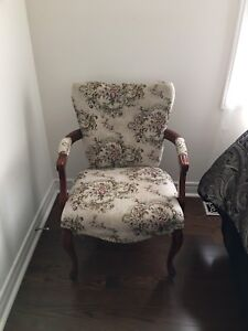 Period accent chairs