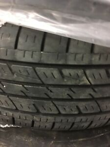 235-65-17 summer tires in good codition kumho