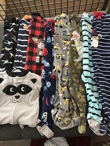 Lot pyjamas 18 mois en moletons Carters