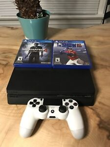PS4 slim and games!