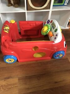 Fisher price red car