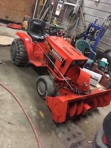 Ingersoll lawn tractor snowblower