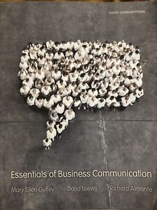Essentials of business communication kijiji in ontario buy essentials of business communication 8th edition fandeluxe Images