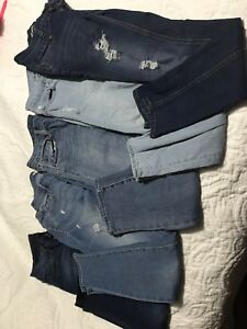 American Eagle, Gap, Old Navy And Bluenotes jeans
