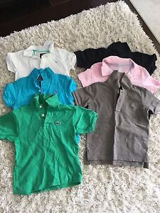 Lot of boys shirts size 4T