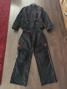 Honda All Weather Motorcycle Riding Suit Men's XL