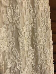 Vintage lace wedding dress - sz10-12 maternity!
