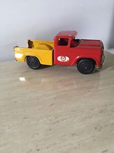 Collectible vintage tin truck