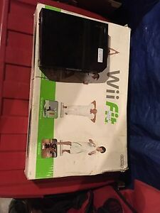 Wii and wii fit board