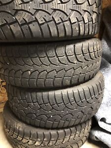 winter tires on rims 205/55r16