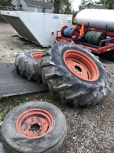 Tractor rims tires