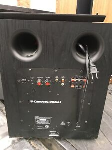 Surround sound speakers and receiver/amplifier