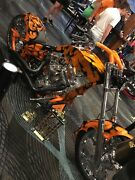 Custom harley chopper Burpengary Caboolture Area Preview